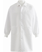 Medline Unisex Knee Length LabCoat