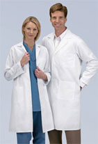 unisex heavyweight twill lab coat